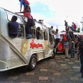 Правилата за движения в Найроби – няма такива
