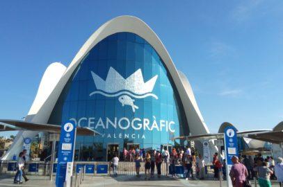 Океанографския парк на Валенсия