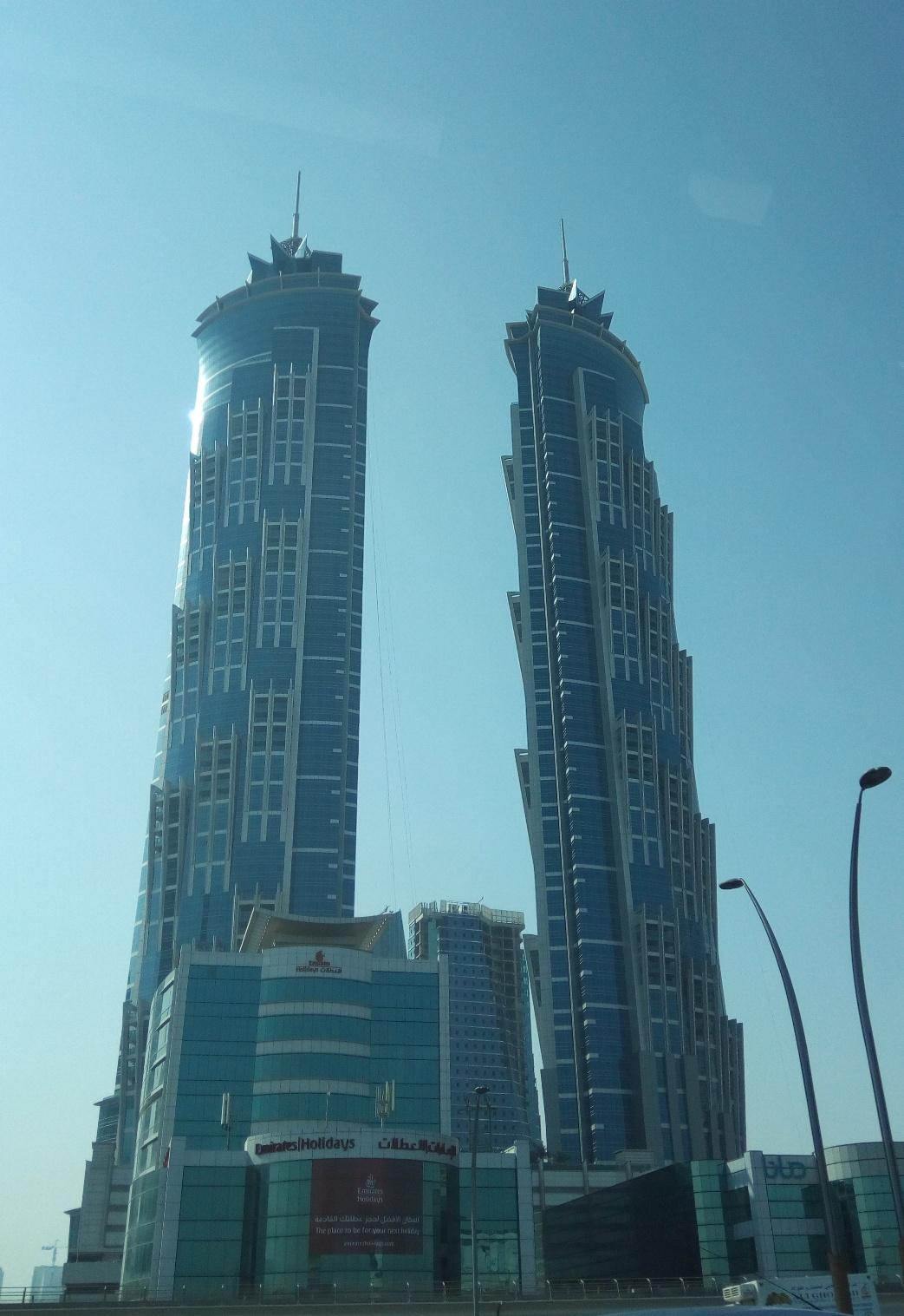 Снимка 2, Небостъргачите на Дубай