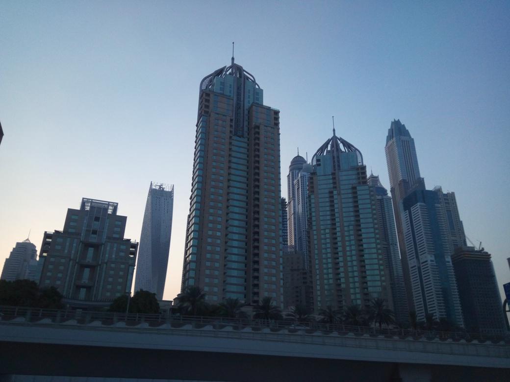 Снимка 4, Небостъргачите на Дубай