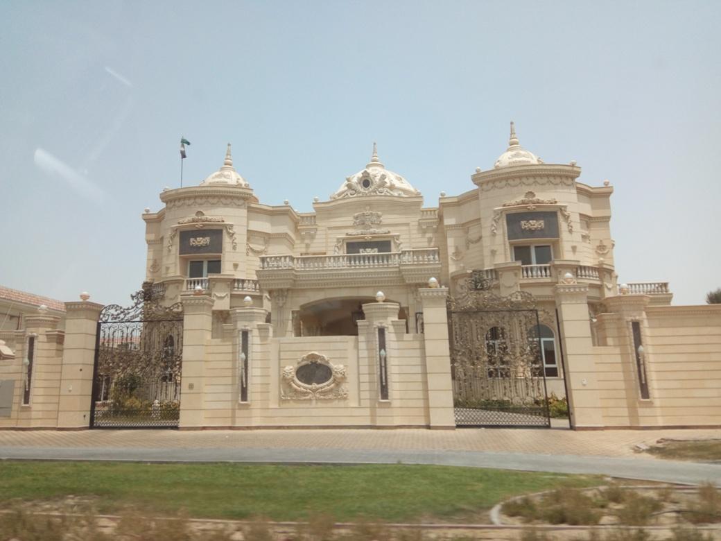 Снимка 4, Къщите - дворци на елита на Дубай