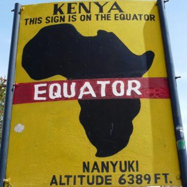 Екватора – популярно и незабележимо място