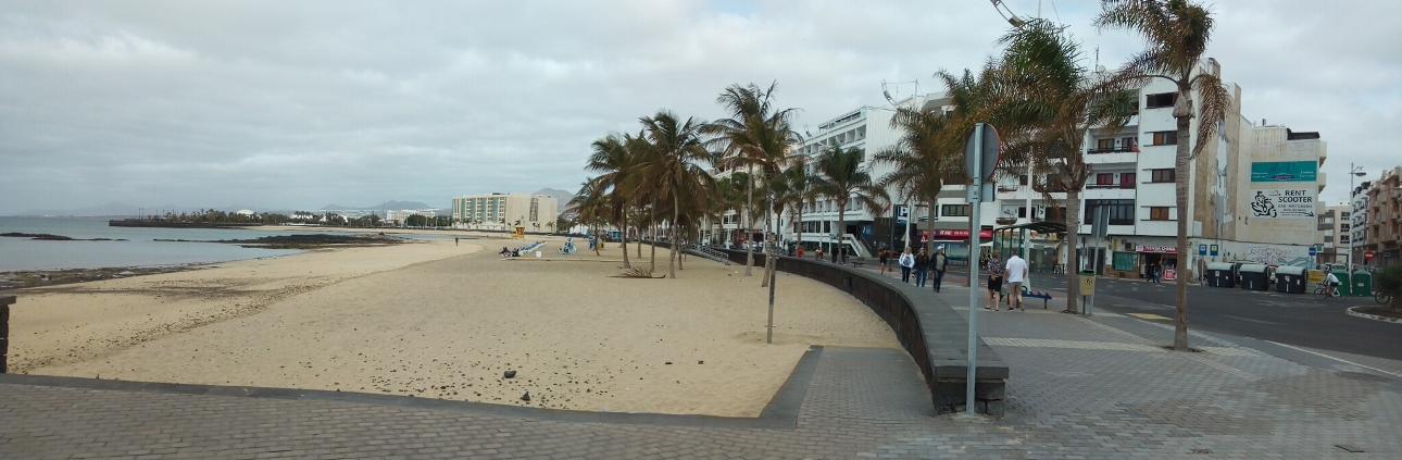 Плажовете на Аресифе, Лансароте