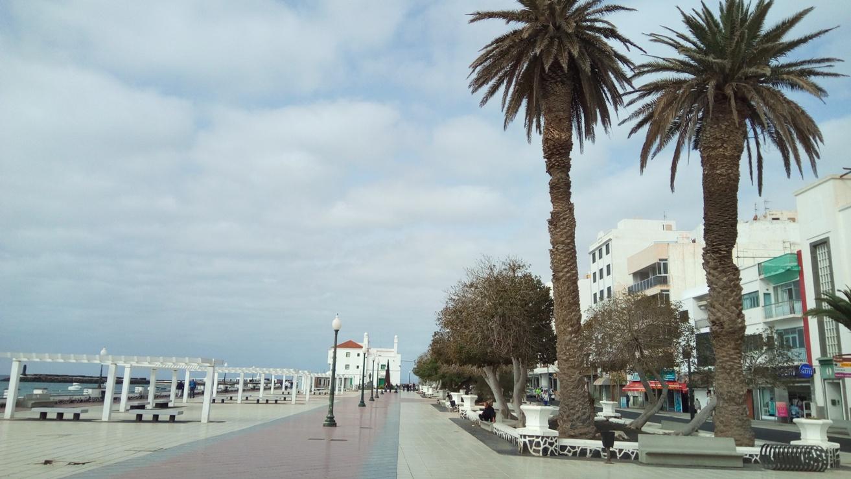 Крайбрежния булевард на Аресифе, Лансароте