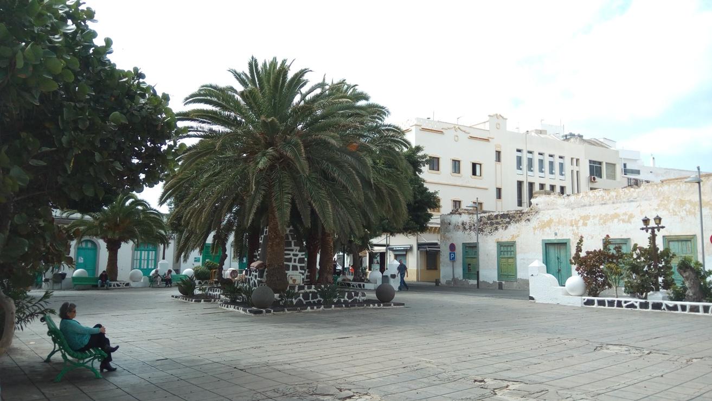 Площад в Аресифе, Лансароте
