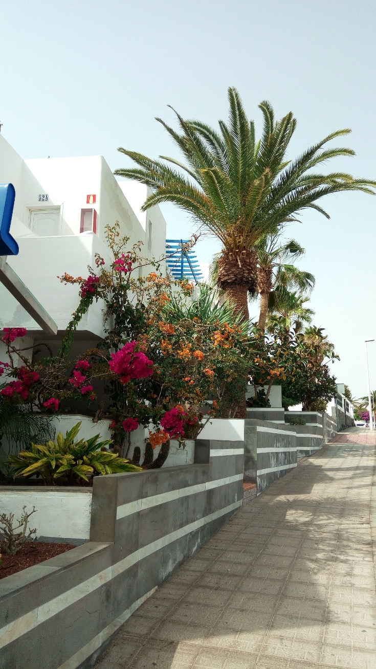 Улица в Пуерто де ла Кармен, Лансароте