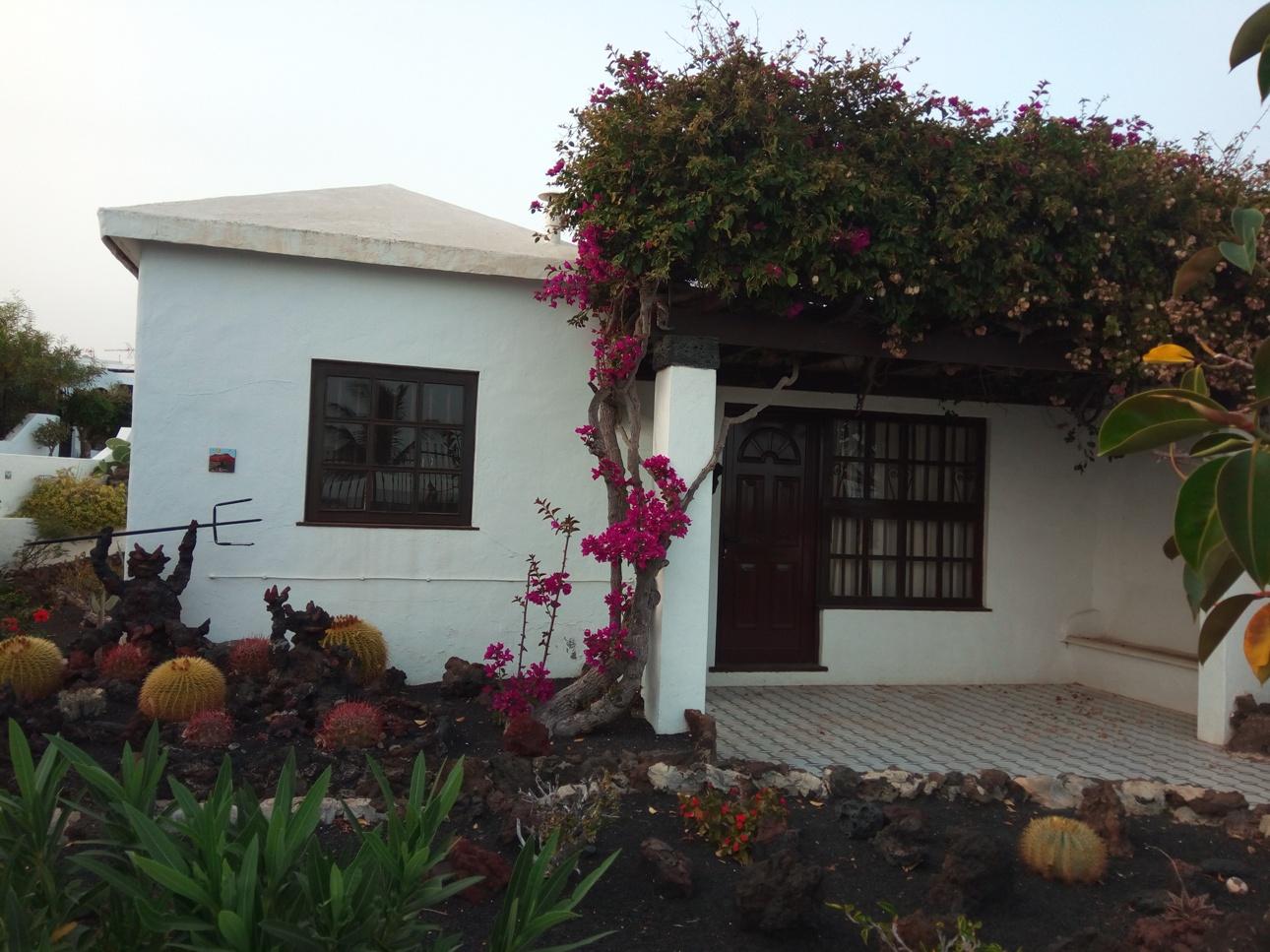 Двор в Пуерто де ла Кармен, Лансароте