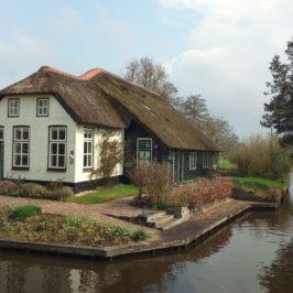 Гитхорн, Холандия – селото без пътища