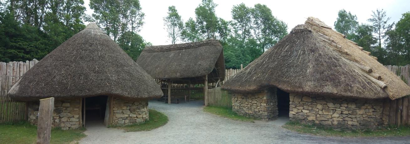 Снимка 4, Бронзова епоха, Irish National Heritage Park, Ирландия