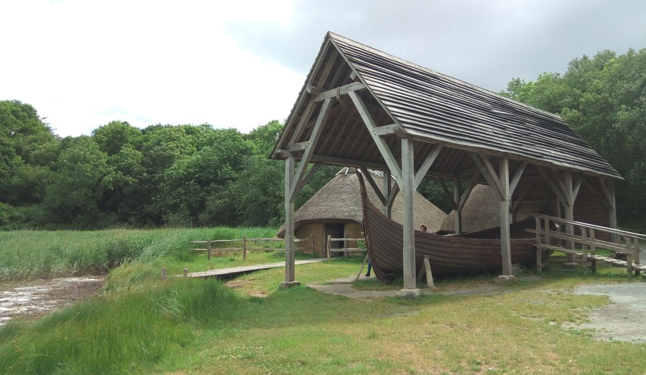 Снимка 2, Епохата на първите викинги, Irish National Heritage Park, Ирландия
