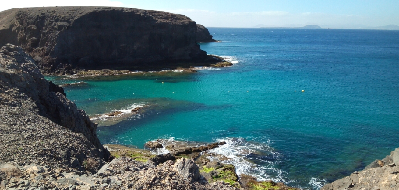 Playa del Papagayo, Lanzerote, Canary Islands, Spain