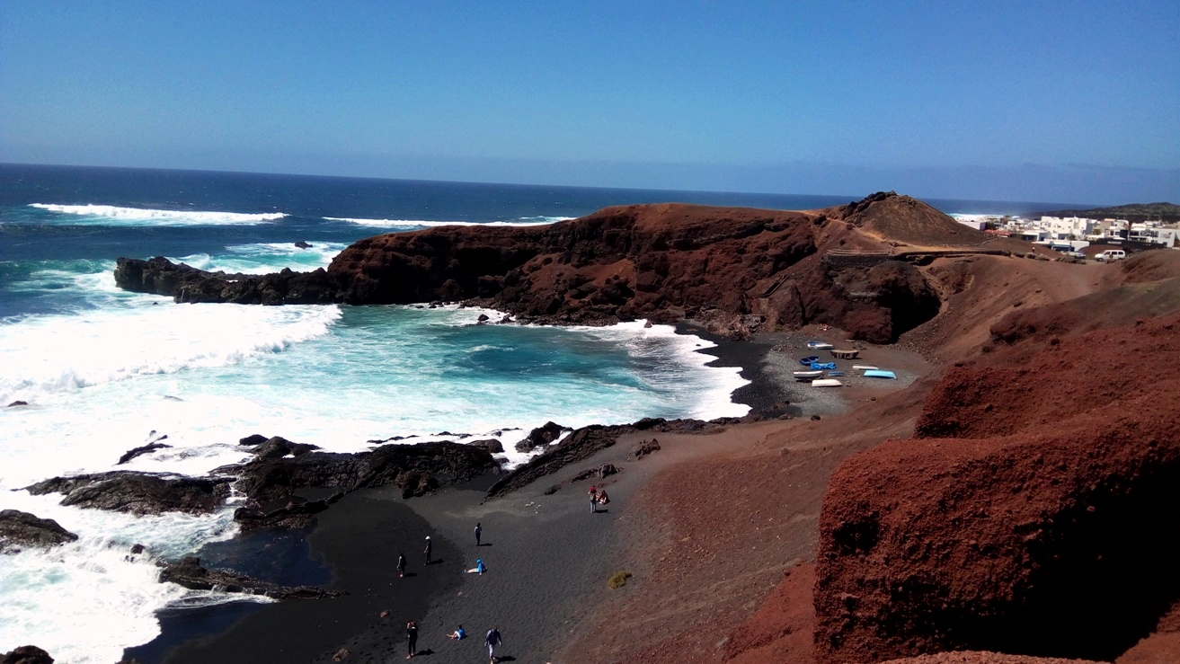 El Golfo, Lanzerote, Canary Islands, Spain