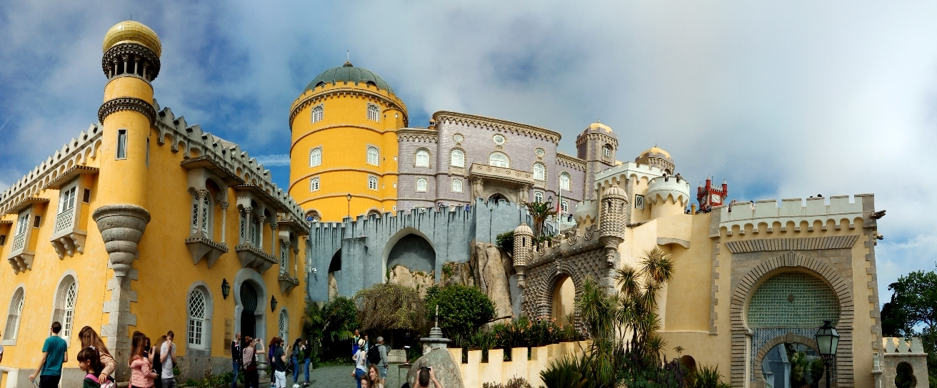 Picture 1, Pena Palace, Sintra, Portugal