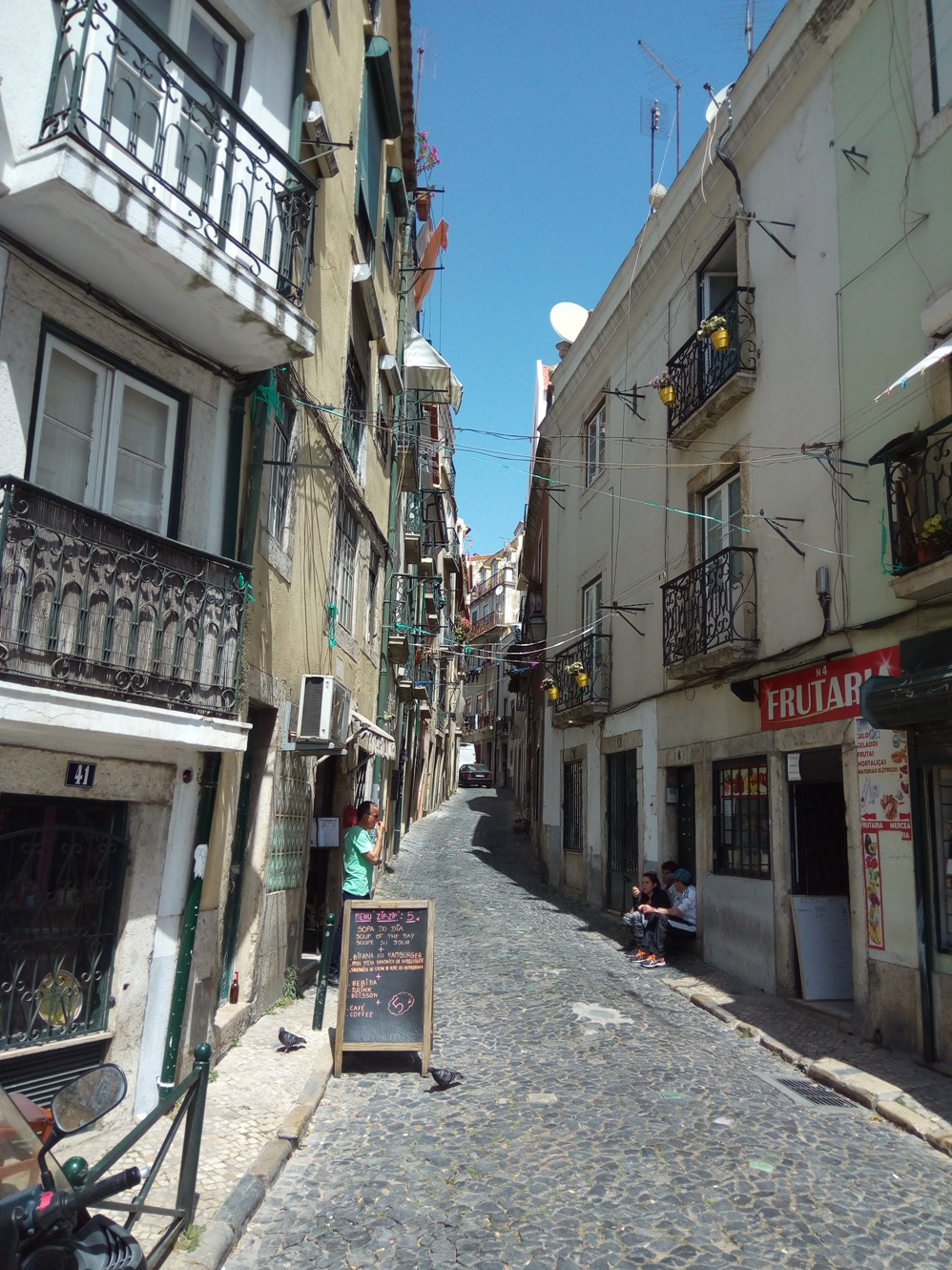 The Lisbon streets, Portugal, Picture 13