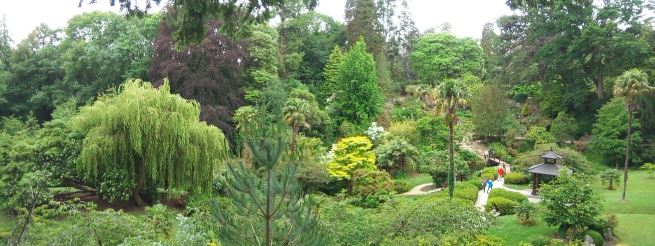 Японската градина в Powerscourt Gardens, Ireland
