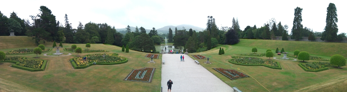 Италианската градина 1, Powerscourt Gardens, Ireland