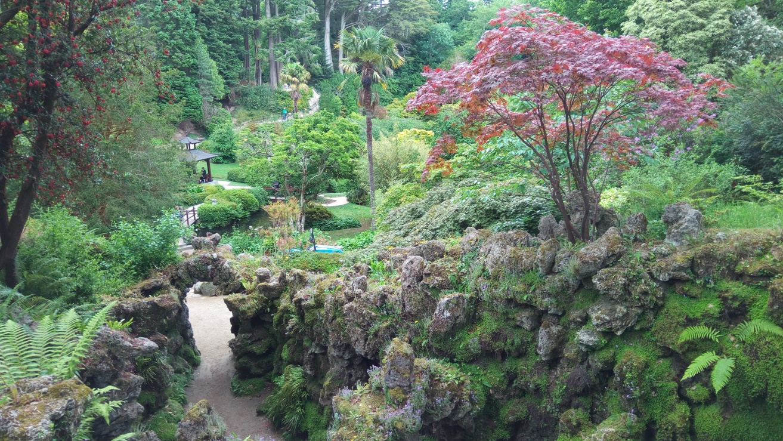 Последна снимка от Японската градина в Powerscourt Gardens, Ireland