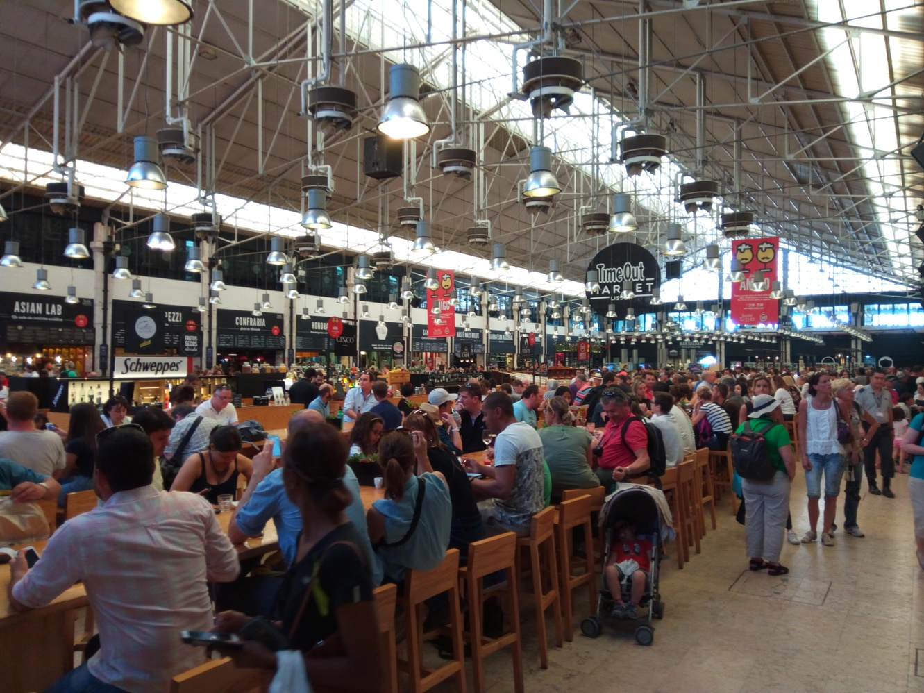 Снимка 3, Time Out Market, Лисабон, Португалия