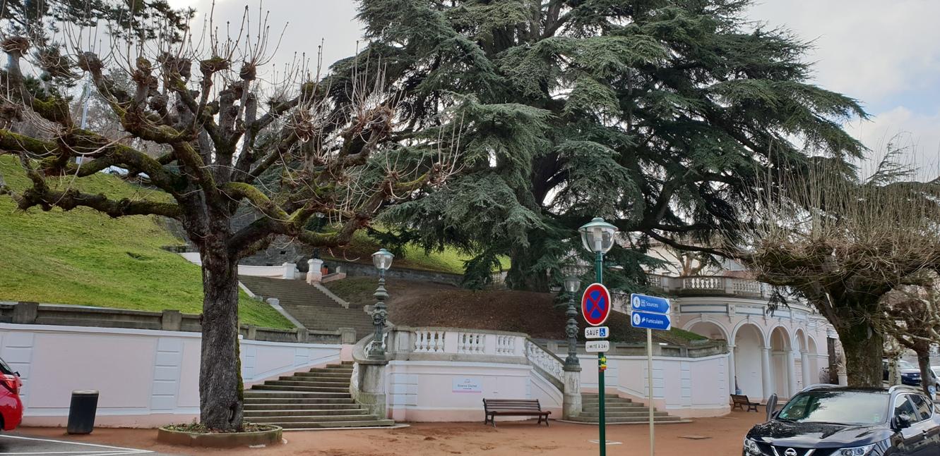 Изворът Cachat, Евиан, Франция