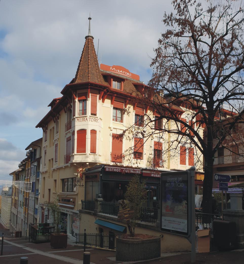 Сградата Muratore в Евиан, Франция
