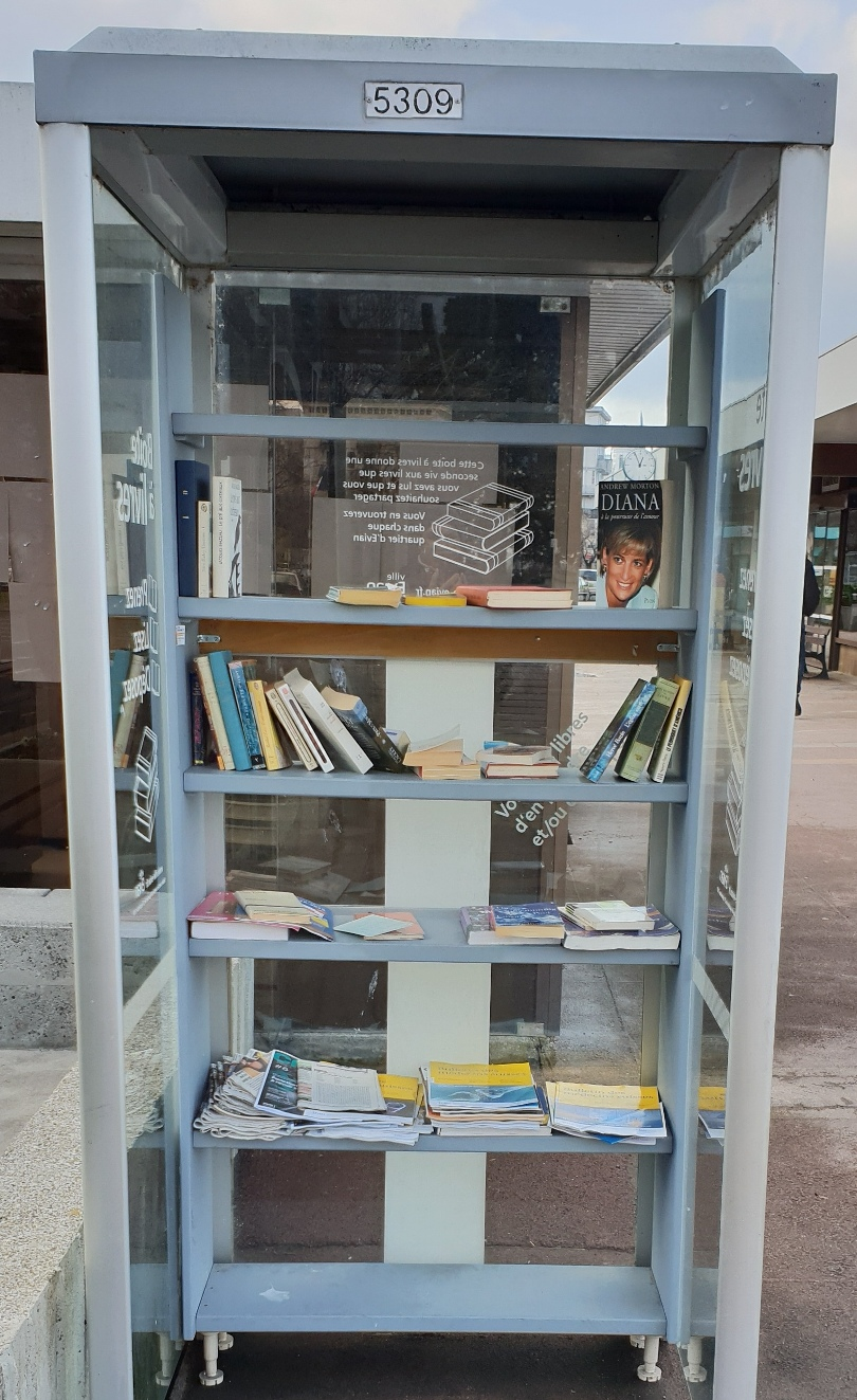 Книги за обмяна в Евиан, Франция