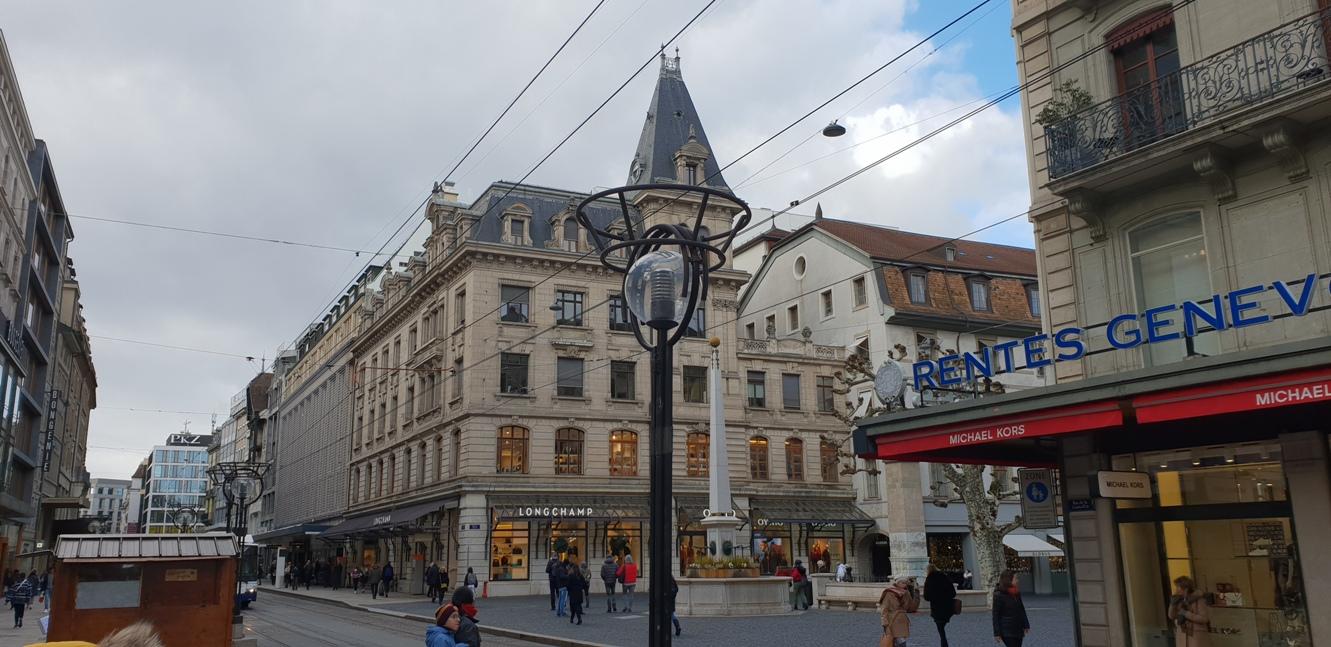 Снимка 12, Улиците на Женева, Швейцария