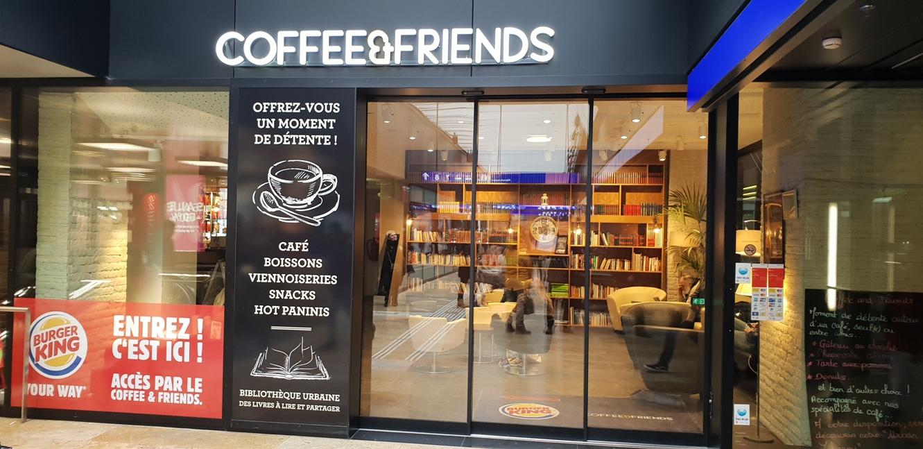 Снимка 19, Кафе в ЖП гарата, Женева, Швейцария