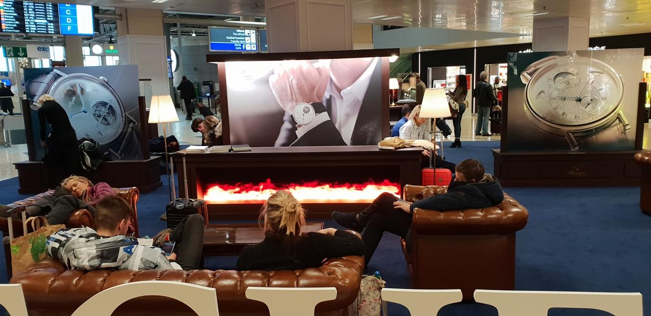 Снимка 24, Кът за релакс на летището в Женева, Женева, Швейцария