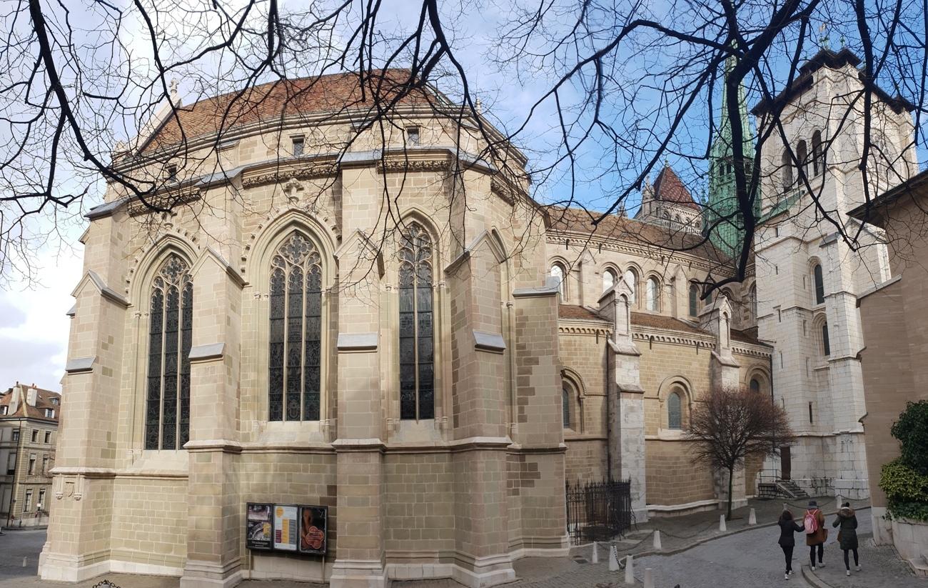 Снимка 7, Църквата на Джон Калвин, Женева, Швейцария