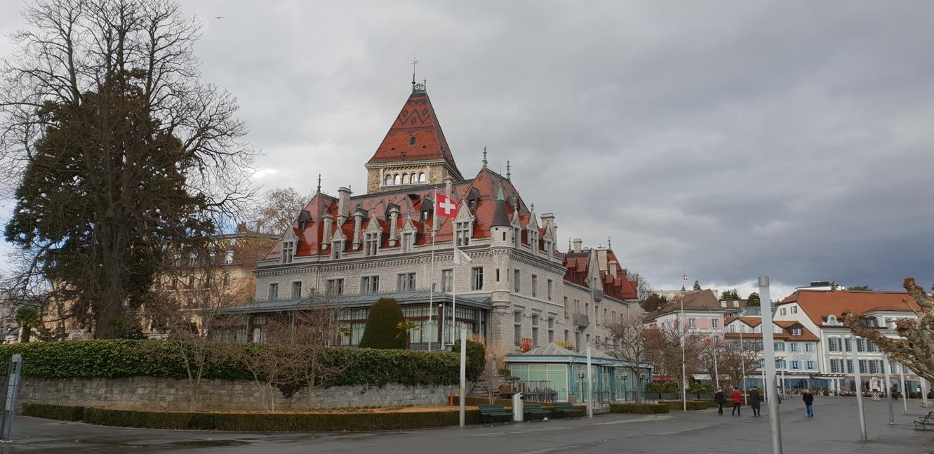 Снимка 10, Château d'Ouchy, Лозана, Швейцария