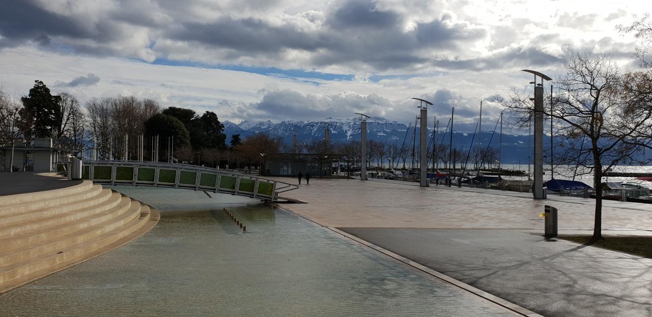 Снимка 3, Женевското езеро, Лозана, Швейцария