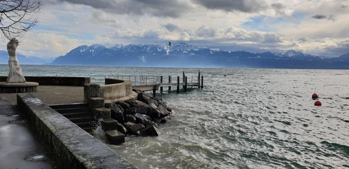 Снимка 8, Женевското езеро, Лозана, Швейцария