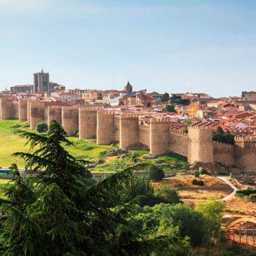 Авила, Испания – крепостни стени, католически мистицизъм и т.н.