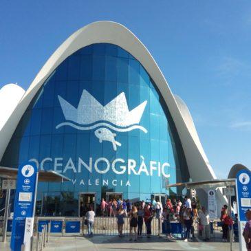 Океанографския парк на Валенсия, Испания